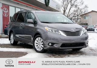 Used 2015 Toyota Sienna XLE AWD GPS for sale in Pointe-Claire, QC