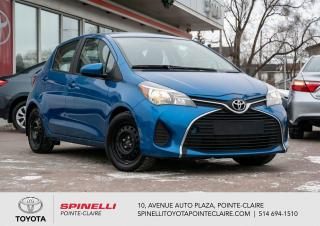 Used 2015 Toyota Yaris HB 5 VITESSES for sale in Pointe-Claire, QC