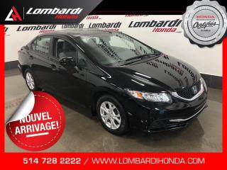 Used 2014 Honda Civic LX|AUTOMATIQUE| for sale in Montréal, QC