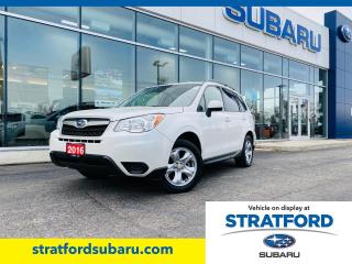 Used 2016 Subaru Forester 2.5i for sale in Stratford, ON