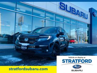 Used 2019 Honda Pilot Black Edition for sale in Stratford, ON