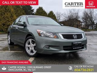 Used 2008 Honda Accord EX-L V6 LEATHER + HEATED SEATS + SUNROOF for sale in Vancouver, BC