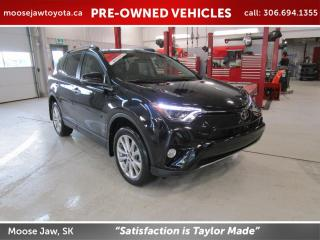 Used 2018 Toyota RAV4 LIMITED AWD for sale in Moose Jaw, SK