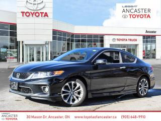 Used 2015 Honda Accord EX-L-NAVI V6 EX-L V6 COUPE Leather Htd seats etc for sale in Ancaster, ON
