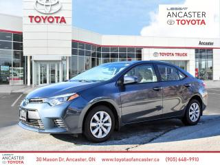 Used 2016 Toyota Corolla LE for sale in Ancaster, ON