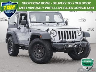 Used 2016 Jeep Wrangler Sport SPORT | 4X4 | STICK WITH AIR for sale in Barrie, ON