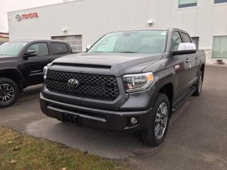 New 2021 Toyota Tundra Platinum CREWMAX+PLATINUM PACKAGE!! for sale in Cobourg, ON