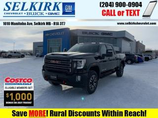 New 2021 GMC Sierra 2500 HD AT4 for sale in Selkirk, MB