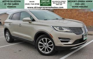 Used 2015 Lincoln MKC AWD Heated Leather Moon Roof Bluetooth Backup Cam Low K's for sale in Belle River, ON