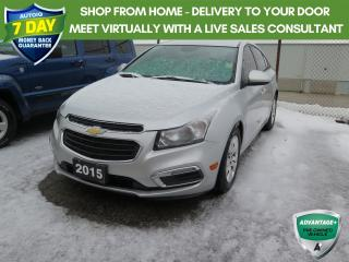 Used 2015 Chevrolet Cruze 1LT New Brakes for sale in St. Thomas, ON