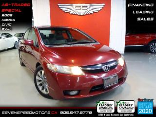 Used 2009 Honda Civic Sdn EX-L AS TRADED SPECIAL for sale in Oakville, ON