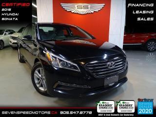 Used 2015 Hyundai Sonata BLIND SPOT | CERTIFIED | FINANCE | 9055478778 for sale in Oakville, ON