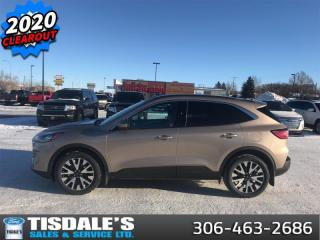 New 2020 Ford Escape SEL 4WD  - Activex Seats -  Heated Seats for sale in Kindersley, SK