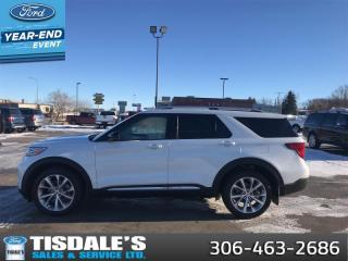 New 2021 Ford Explorer Platinum  - Leather Seats -  Heated Seats for sale in Kindersley, SK