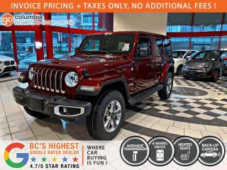 New 2021 Jeep Wrangler Sahara for sale in Richmond, BC