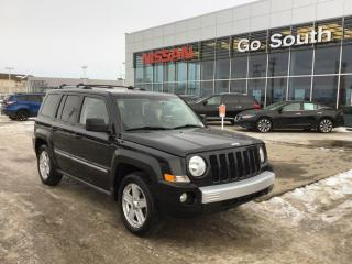Used 2010 Jeep Patriot LIMITED, 4WD, NAVIGATION, LEATHER for sale in Edmonton, AB