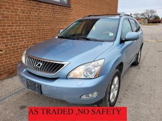 Used 2009 Lexus RX 350 navi-backup cam-leather for sale in Oakville, ON