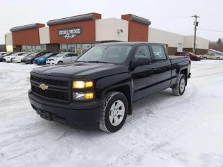 Used 2014 Chevrolet Silverado 1500 Work Truck w/1WT 4x2 Crew Cab Pickup 153.0 in. WB for sale in Steinbach, MB