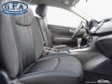 2018 Nissan Sentra SV, REARVIEW CAMERA, HEATED SEATS, KEYLESS ENTRY