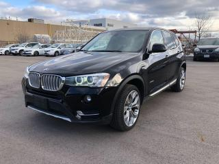 Used 2017 BMW X3 xDrive28i/X3/SAFETY AND WARRANTY for sale in Oakville, ON