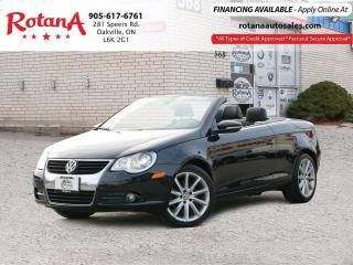 Used 2009 Volkswagen Eos Navigation_Bluteooth_Leather_Low KMs for sale in Oakville, ON