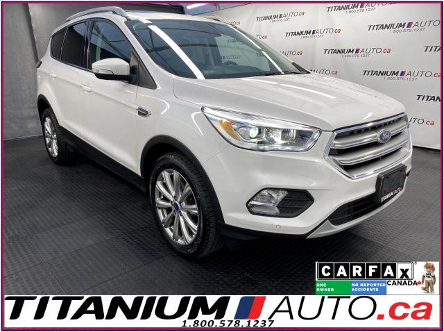 2017 Ford Escape Titanium+4X4+GPS+Pano Roof+Leather+Blind Spot+LDW
