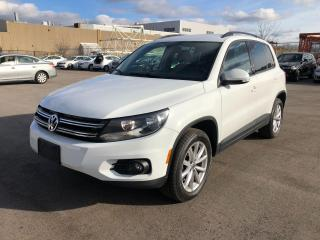 Used 2017 Volkswagen Tiguan Wolfsburg Edition/SAFETY AND WARRANTY for sale in Oakville, ON