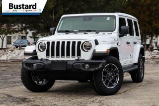 New 2021 Jeep Wrangler SAHARA UNLTD | 80TH ANNIV | NAV | LEATHER for sale in Waterloo, ON