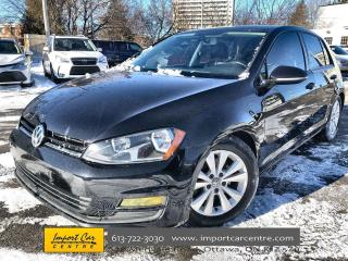 Used 2015 Volkswagen Golf 1.8 TSI Comfortline ALLOYS  LEATHERETTE  HTD SEATS for sale in Ottawa, ON