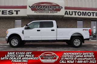Used 2017 Ford F-350 FX4 4X4  POWERSTROKE DIESEL 4X4, 8FT BOX LOW KM for sale in Headingley, MB