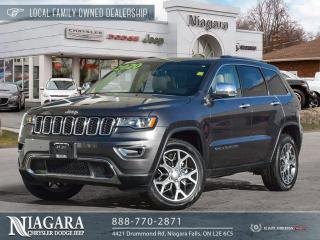 Used 2020 Jeep Grand Cherokee Limited   panoramic roof for sale in Niagara Falls, ON