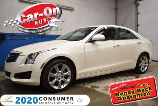 Used 2014 Cadillac ATS 4 AWD 2.0L TURBO LUXURY w/ PREMIUM MORELLO SPORT LEATHER for sale in Ottawa, ON