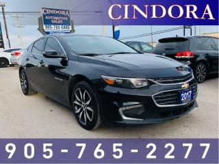 Used 2017 Chevrolet Malibu LT, NAV, Leather, Roof, Fully Loaded! for sale in Caledonia, ON