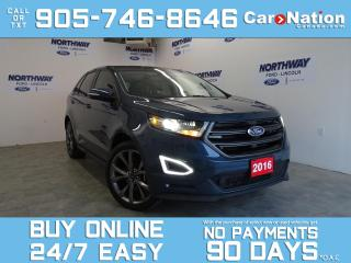 Used 2016 Ford Edge SPORT | AWD | PANO ROOF | NAV | 39KM | 21'' RIMS! for sale in Brantford, ON