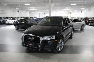 Used 2017 Audi Q3 NO ACCIDENTS PROGRESSIV I NAVIGATION I PANOROOF I REAR CAM for sale in Mississauga, ON