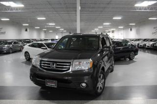 Used 2015 Honda Pilot TOURING I NAVIGATION I LEATHER I SUNROOF I REAR CAM I DVD for sale in Mississauga, ON