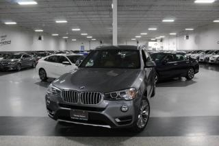 Used 2017 BMW X3 xDRIVE28i NO ACCIDENTS I NAVIGATION I PANOROOF I REAR CAM for sale in Mississauga, ON