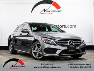 Used 2017 Mercedes-Benz C-Class C300 4MATIC/AMG Sport/Navigation/Pano/Blindspot for sale in Vaughan, ON