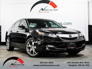 Used 2013 Acura TL SH-AWD/Elite Pkg/Navigation/Blindspot for sale in Vaughan, ON