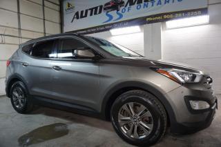 Used 2015 Hyundai Santa Fe PREMUIM AWD CERTIFIED 2YR WARRANTY HEATED 4 SEATS & STEERING BLUETOOTH ALLOYS for sale in Milton, ON