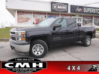 Used 2015 Chevrolet Silverado 1500 WT  4X4 BT PWR-GROUP REM-START for sale in St. Catharines, ON