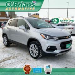 Used 2020 Chevrolet Trax Premier w/Mfg Warranty, AWD, Heated Seats, Command Start, Backup Camera for sale in Saskatoon, SK