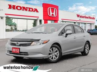 Used 2012 Honda Civic Sdn LX for sale in Waterloo, ON