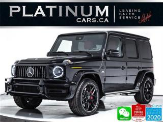 Used 2021 Mercedes-Benz G-Class AMG G63, NEW CAR, 577HP, NIGHT, EXCLUSIVE INT for sale in Toronto, ON