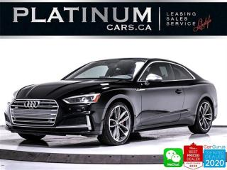 Used 2018 Audi S5 3.0T quattro Technik, AWD, LANE KEEP, NAV, HEATE for sale in Toronto, ON