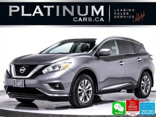 Used 2016 Nissan Murano SL, V6, AWD, NAV, PANO, 360CAM,  HEATED for sale in Toronto, ON