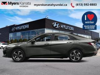 New 2021 Hyundai Elantra Ultimate  Tech IVT  - $186 B/W for sale in Kanata, ON