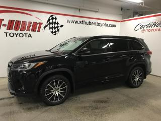 Used 2018 Toyota Highlander AWD SE TOIT OUVRANT, NAVIGATION, CUIR for sale in St-Hubert, QC