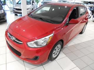 Used 2017 Hyundai Accent 5 LE ** DEMARREUR,A/C,BLUETOOTH,AUTOMATI for sale in Montréal, QC