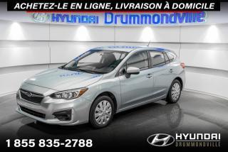 Used 2017 Subaru Impreza CONVENIENCE + GARANTIE + CAMERA + WOW !! for sale in Drummondville, QC
